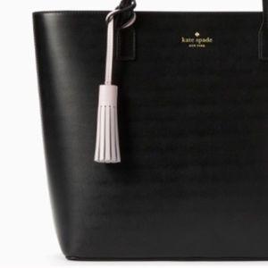 NWT Kate Spade Large Karla Leather Tassle Bag